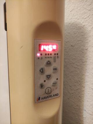 Radiador eléctrico programable