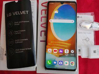 LG Velvet de 128 y 6 gb