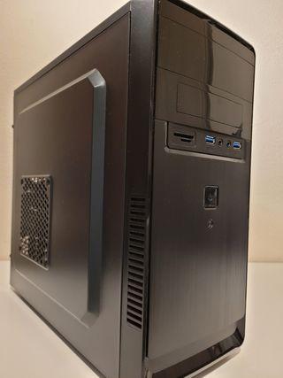 Caja ordenador con fuente de Alimentación