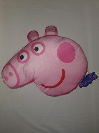 "cojín peppa pig ""NUEVO"""