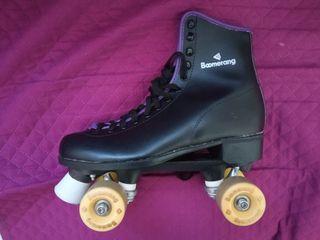 patines de 4 ruedas boomerang