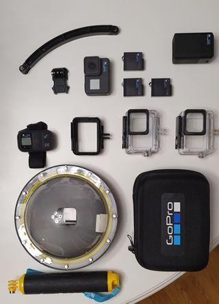 GoPro Hero6 Black + smart remote + cargador doble