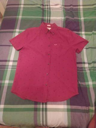 camisa de manga corta, talla S