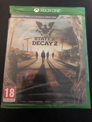 State of Decay 2 PAL ESP. Nuevo precintado. Xbox