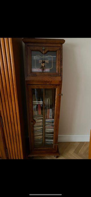 Mueble puerta cristal CD