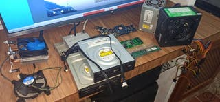 Lote de componentes de PC