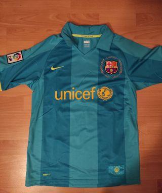 2a equipación FC Barcelona 2007-08