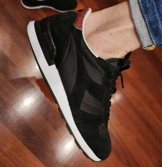 Diadora zapatillas negras