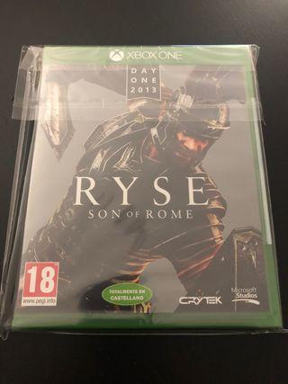 Ryse Day One PAL ESP. Nuevo Precintado. Xbox