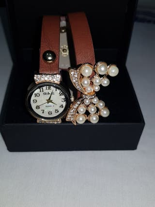 reloj con pulsera mujer