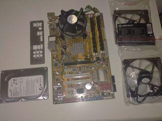 Placa Base Asus + Q6600+8Gb de ram+ Regalos