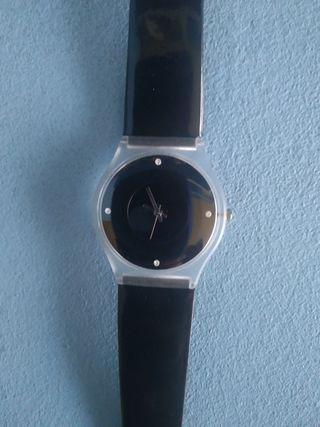 reloj de pulsera de Mujer color negro