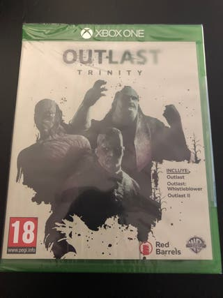 Outlast Trinity PAL ESP. Nuevo precintado. Xbox