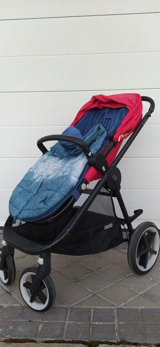 carro bebé cybex balios M con Cybex cloud Z