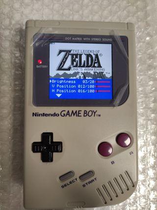 GameBoy clásica retroiluminada