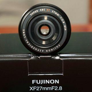 FUJINON XF 27 mm f 2.8 FUJIFILM