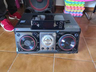equipo sonido LG xboom, dj CM9730