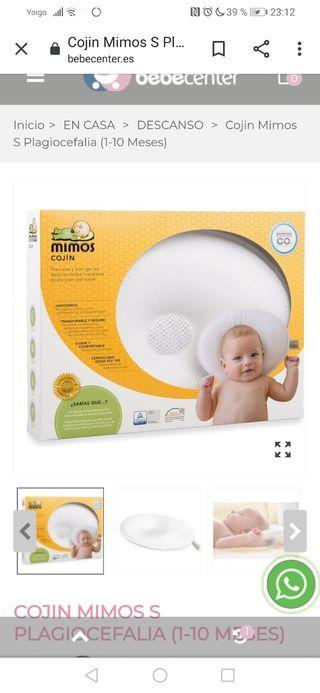 cojín ergonómico bebé mimos