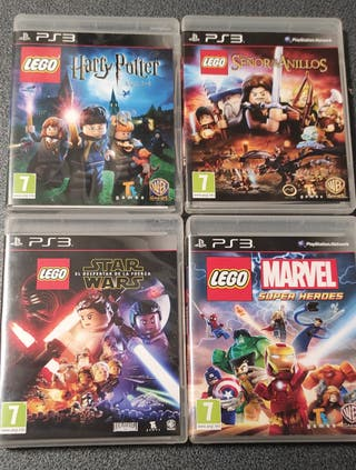 Saga juegos lego PS3