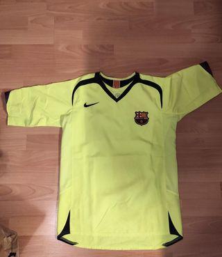 2a equipación FC Barcelona 2005-06