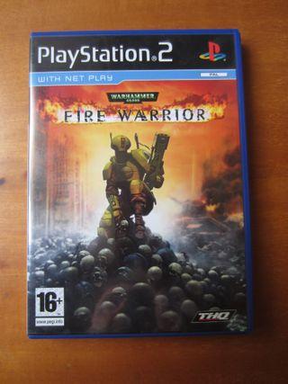Warhammer 40000 Fire Warrior (PS2) (Playstation 2)
