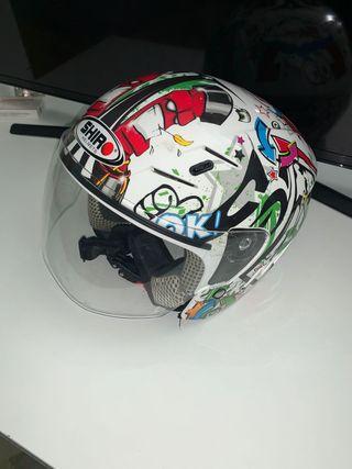 Casco moto Shiro Helmes