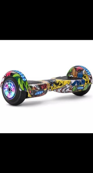 "hoverboard 6.5"" con Bluetooth altavoces luces LED"