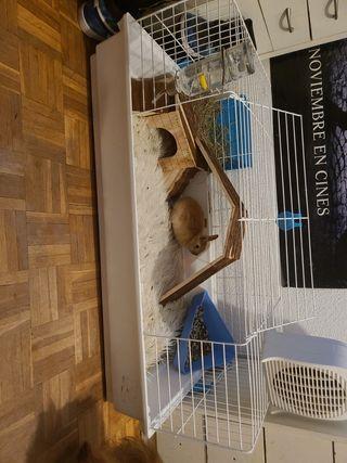 jaula conejo o hamster muy grande