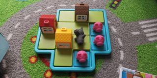 Lego y juego de lógica 3 cerditos