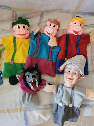 5 Marionetas cuentos