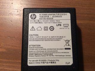 Batería, alimentador impresora HP