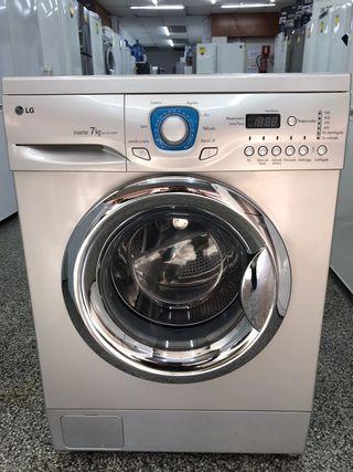lavadora LG 7kg grantia transporte gratis