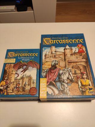 Carcassonne + expansión la princesa y el dragón