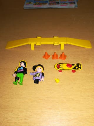 Playmobil 3709 niños patinadores