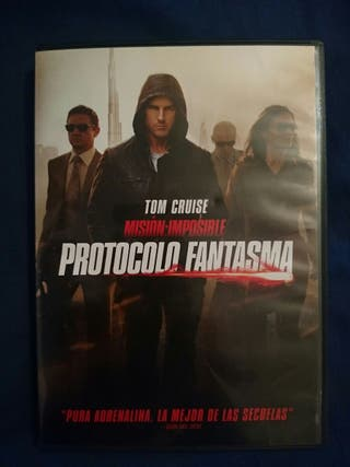 DVD MISIÓN IMPOSIBLE PROTOCOLO FANTASMA.