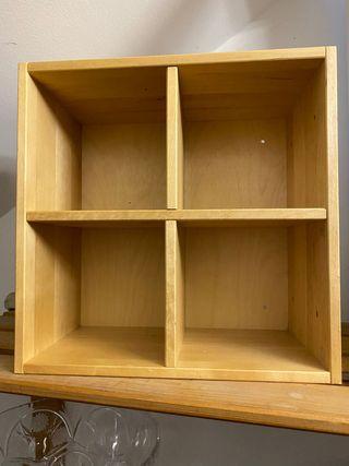caja de almacenaje ,30x30 , ideal para CD
