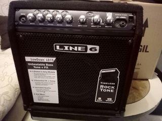 line 6 lowdown 15w amplificador de bajo