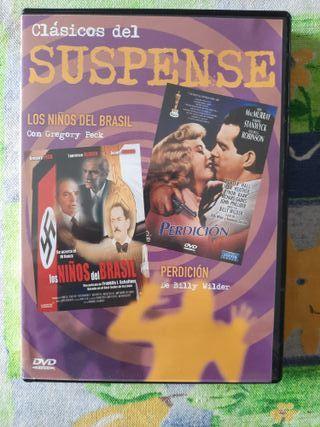 DVD CLÁSICOS DEL SUSPENSE