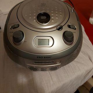 Radio cd/mp3 pro basic