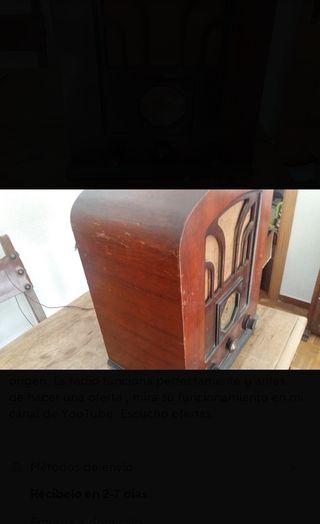 radio antigua de valvulas PHILIPS 534U