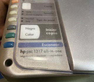 Impresora HP PSC 1317 all-in-one