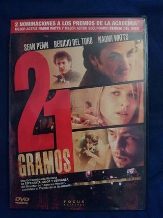 DVD 21 GRAMOS.