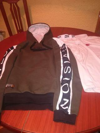 sudadera y Camiseta Nike