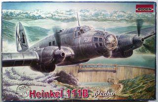 """Escala 1:72 avion Heinkel 111 Pedro"""""""