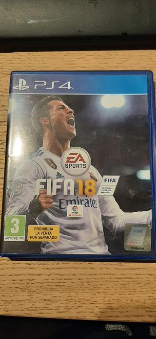 """""""FIFA 18"""" Para Ps4"""