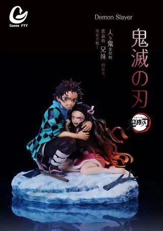 NEZUKO y TANJIRO by GOOSE STY STUDIO