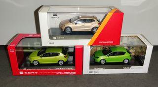 Lote Seat Ibiza a escala (Altaya) 1:43 IXO Models