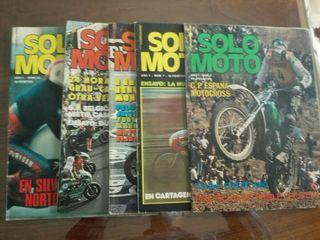 Revistas SOLO MOTO año 1