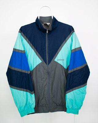 chaqueta adidas multicolor vintage 90s
