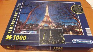 Puzzle 1000 piezas. Marca Clementoni. Fluorescente